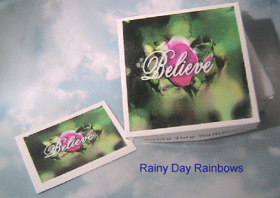 Believe Gift Box WITH card