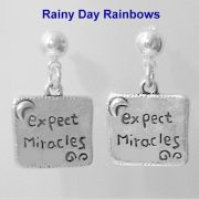 Expect Miracles Hope Earrings