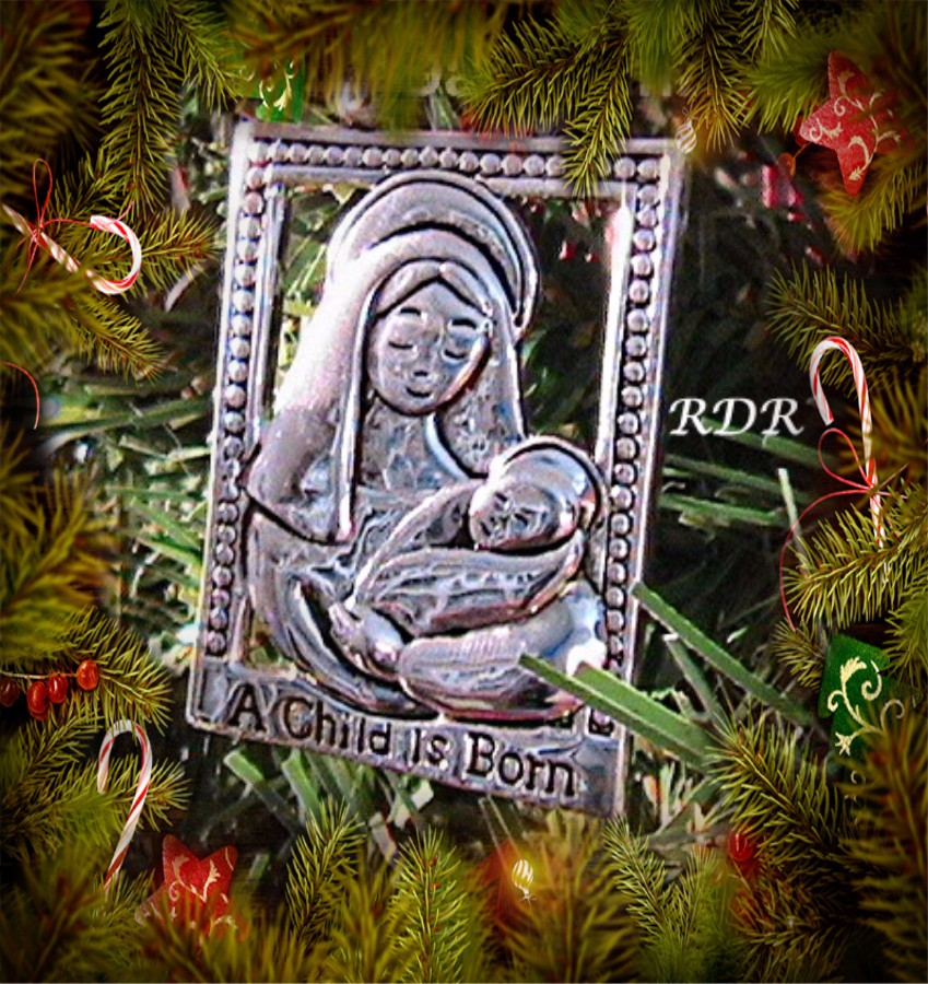 a child is born ornament