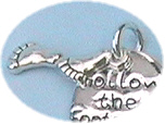 Footprints of the Lord Bookmark