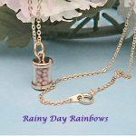 Mustard Seed Clear Jar Necklace 3
