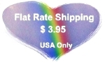 flat rate shipping heart