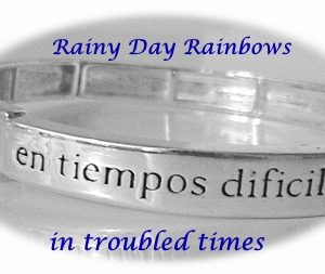 Spanish Follow the Footprints of the Lord Bracelet