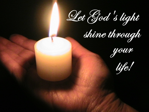 Letting God's light shine