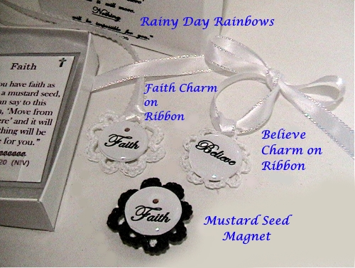 Mustard Seed Box with Charms and Magnet