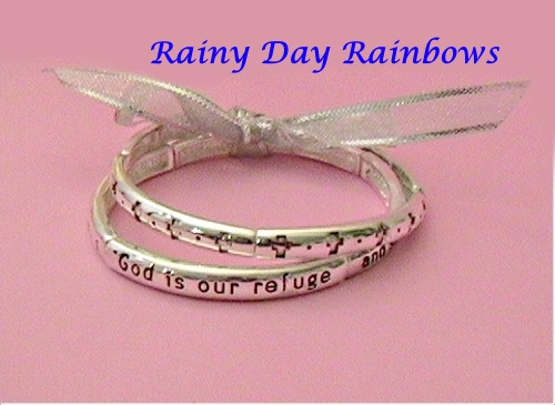 God Is Our Refuge Double Bracelet