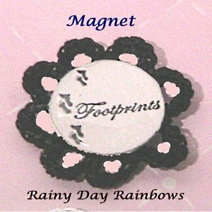 Footprints Magnet Cocoa Brown