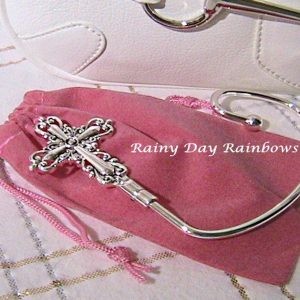 classic cross purse hook purse hanger
